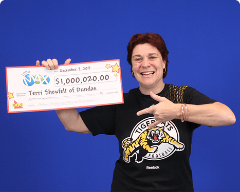 RECENT Lotto Max WINNER - Terri