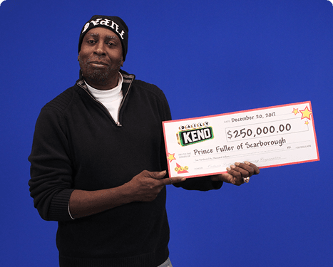 RECENT Daily Keno WINNER - Prince