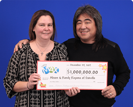 RECENT Lotto Max WINNER - Alison and Randy