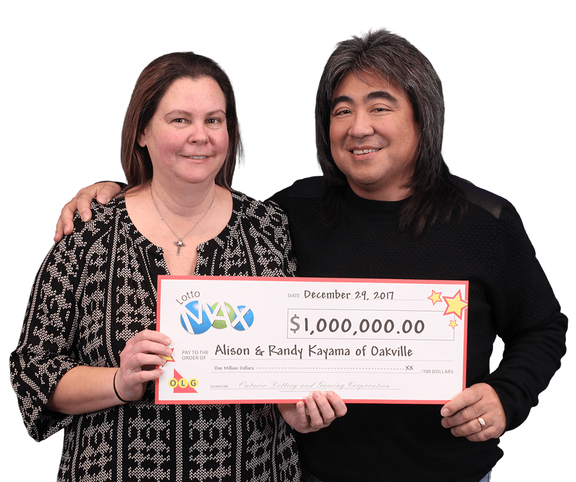 GAGNANT RÉCENT À Lotto Max - Alison and Randy