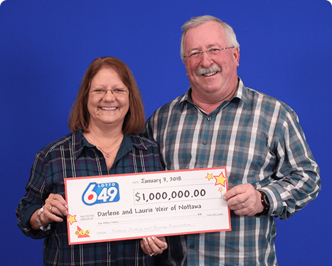 RECENT Lotto 6/49 WINNERS - Darlene & Laurie