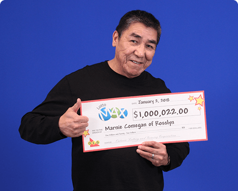 RECENT Lotto Max WINNER - Marnie