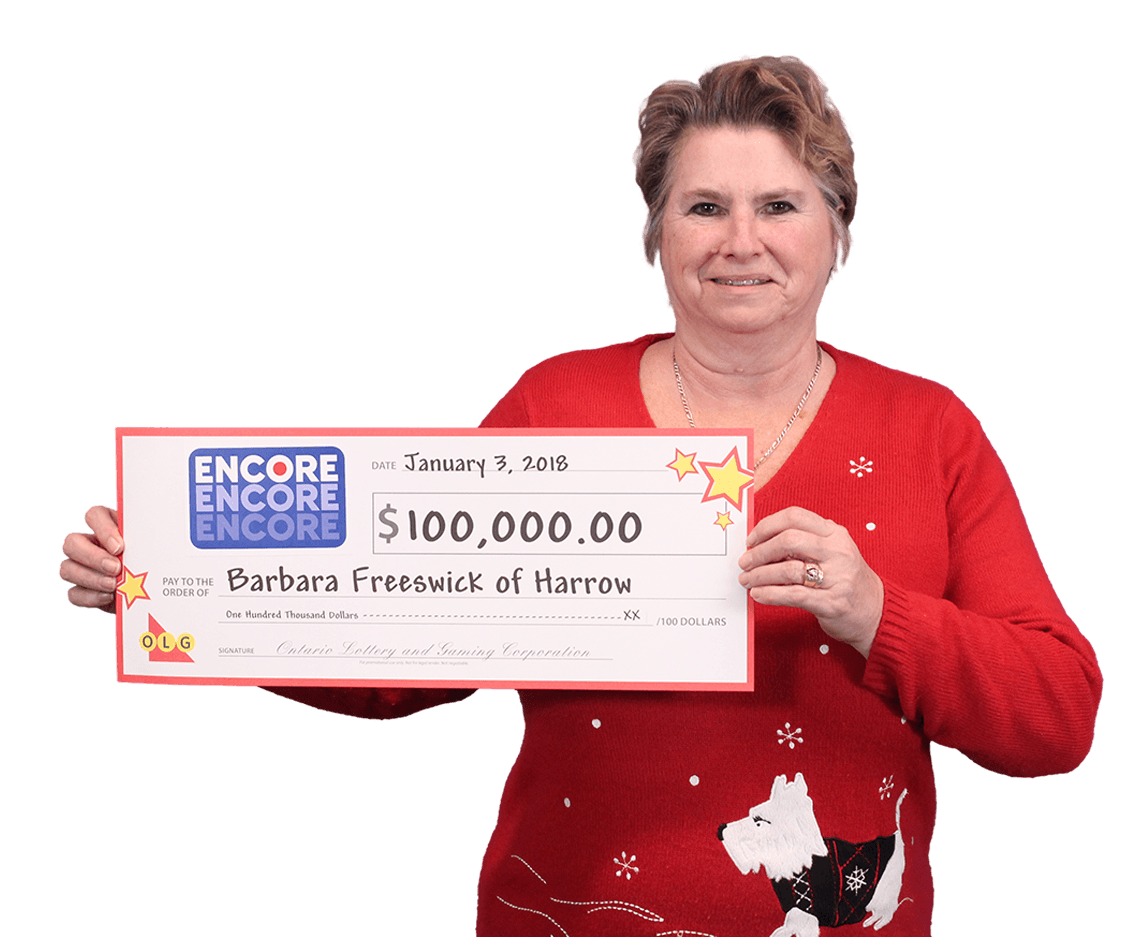 RECENT Encore WINNER - Barbara