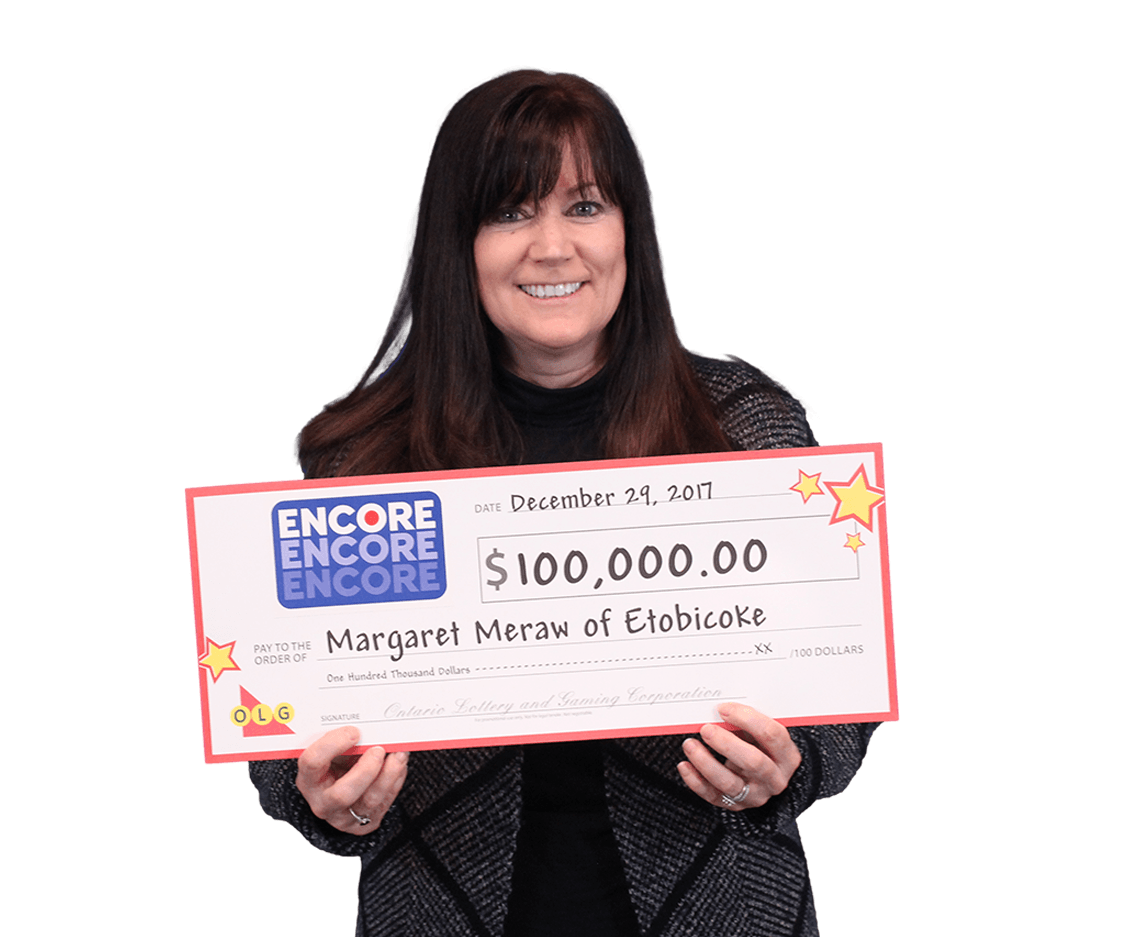 RECENT Encore WINNER - Margaret