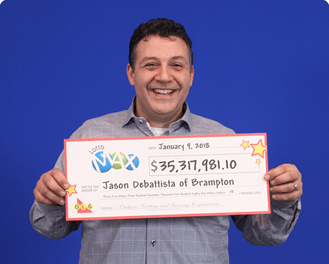 RECENT Lotto Max WINNER - Jason