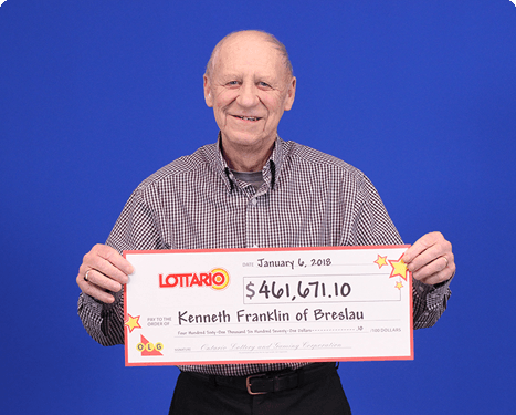 RECENT Lottario WINNER - Kenneth