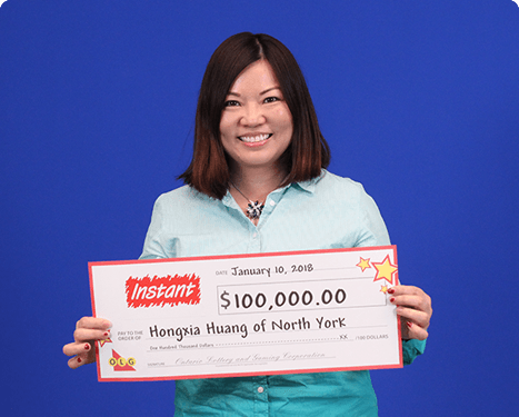 RECENT Instant WINNER - Hongxia