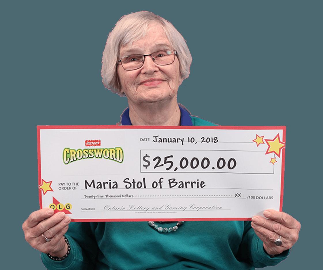 RECENT Instant WINNER - Maria