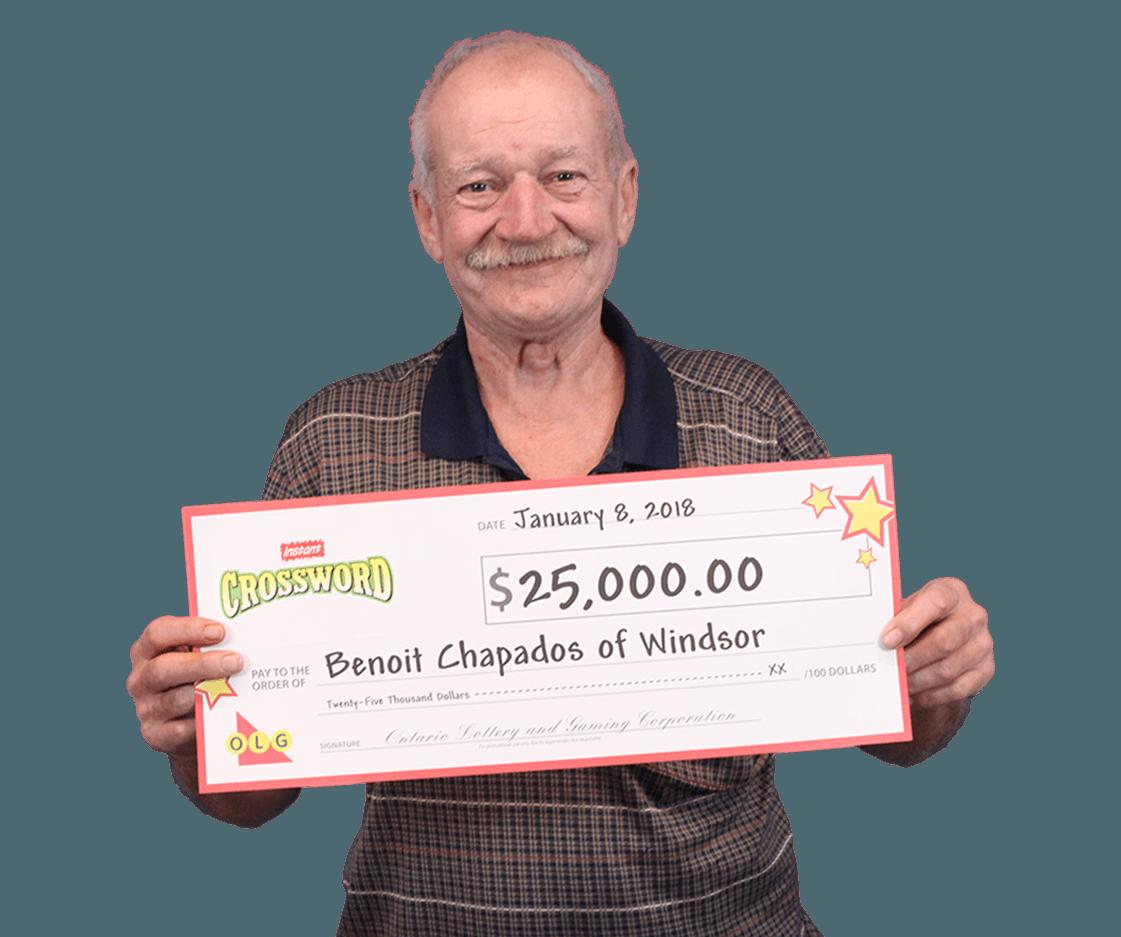 RECENT Instant WINNER - Benoit