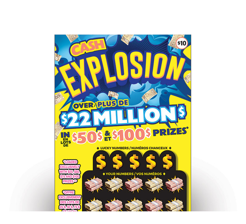 CASH EXPLOSION Ticket
