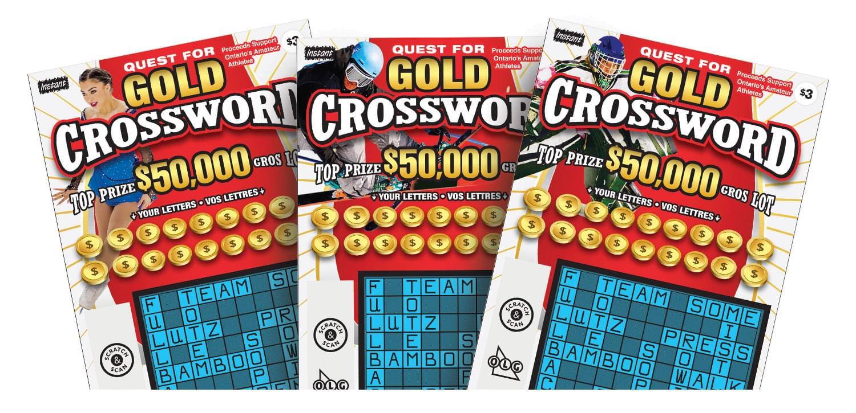 Billets Quest for Gold Crossword
