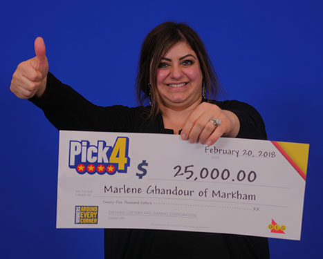 RECENT Pick-4 WINNER - Marlene