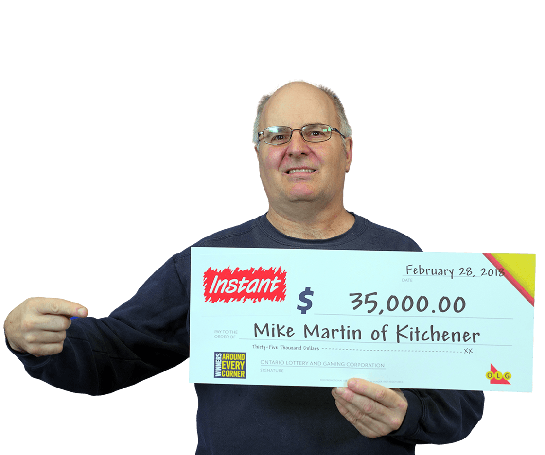 RECENT Instant WINNER - Mike