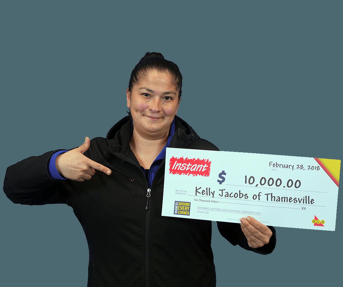 RECENT Instant WINNER - Kelly