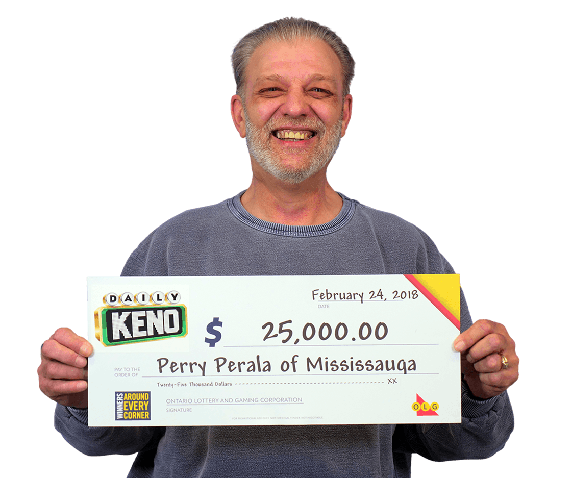 RECENT Daily Keno WINNER - Perry