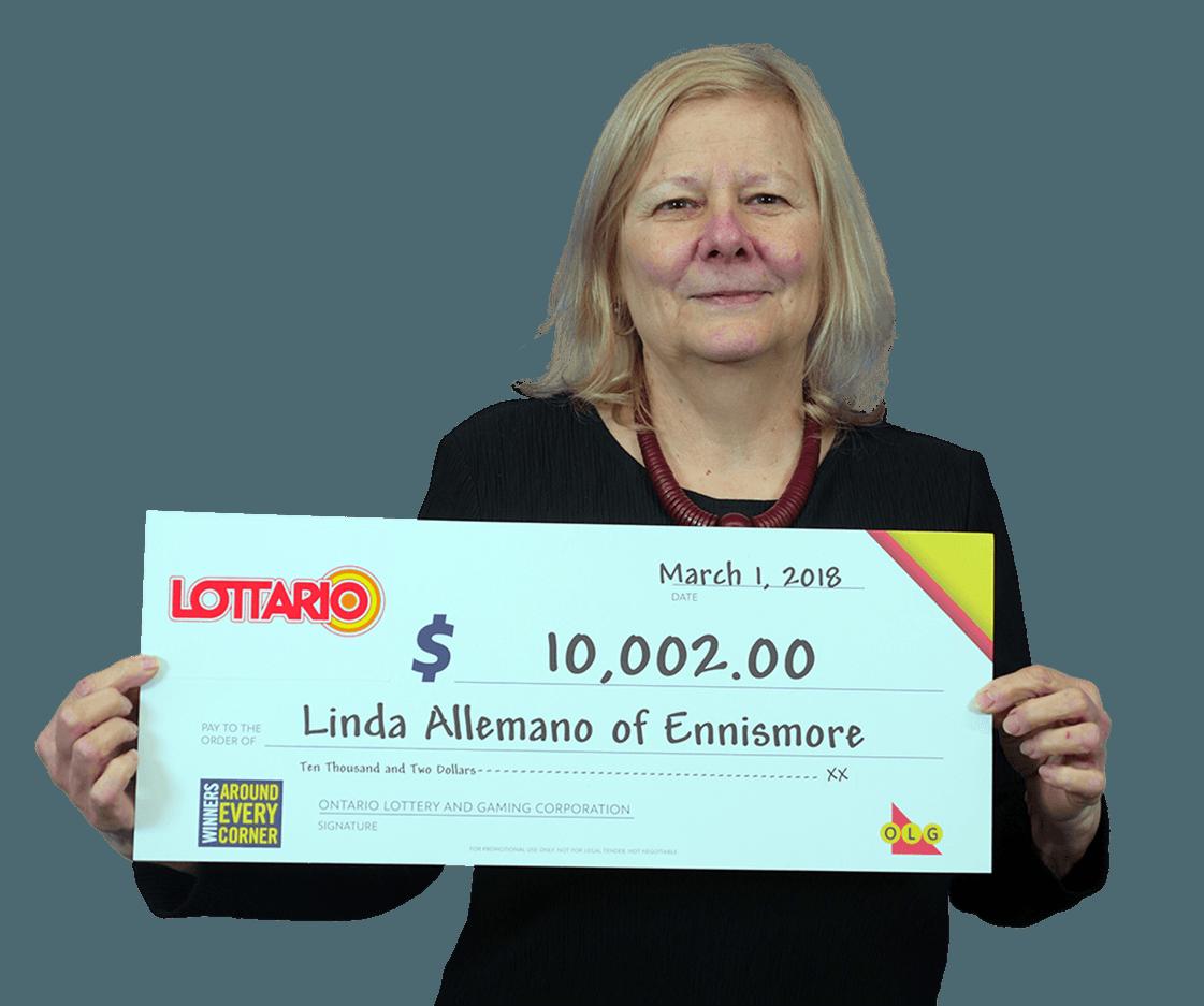 RECENT Lottario WINNER - Linda