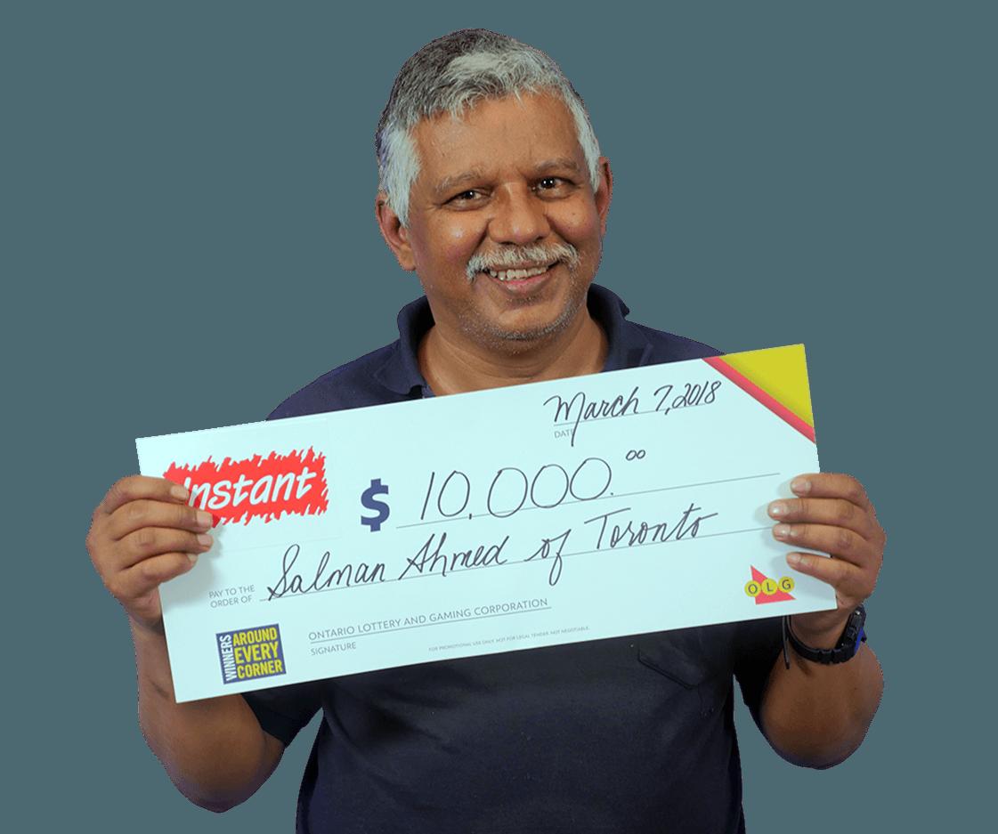 RECENT Instant WINNER - Salman