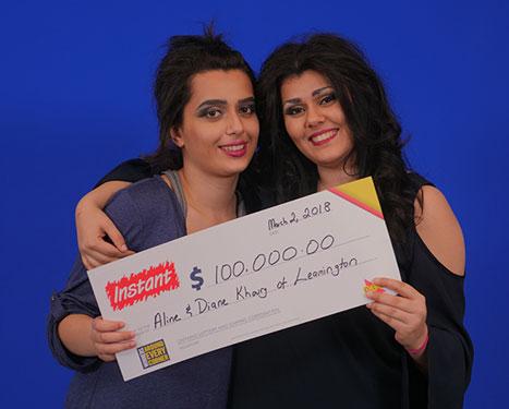 RECENT Instant WINNERS - Aline & Diane