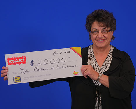 RECENT Instant WINNER - Sylvia