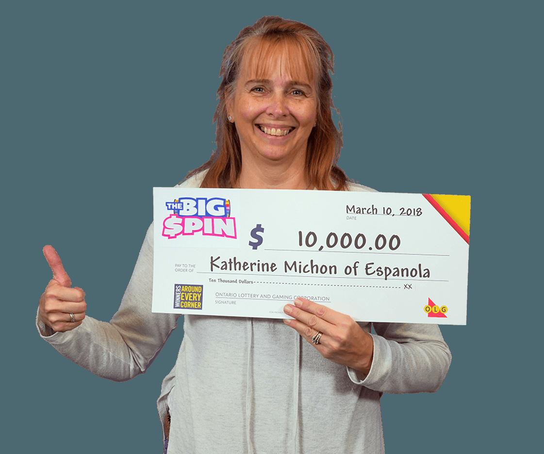 RECENT Instant WINNER - Katherine