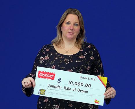 RECENT Instant WINNER - Jennifer