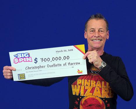 RECENT Instant WINNER - Christopher