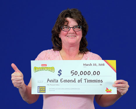 RECENT Instant WINNER - Anita