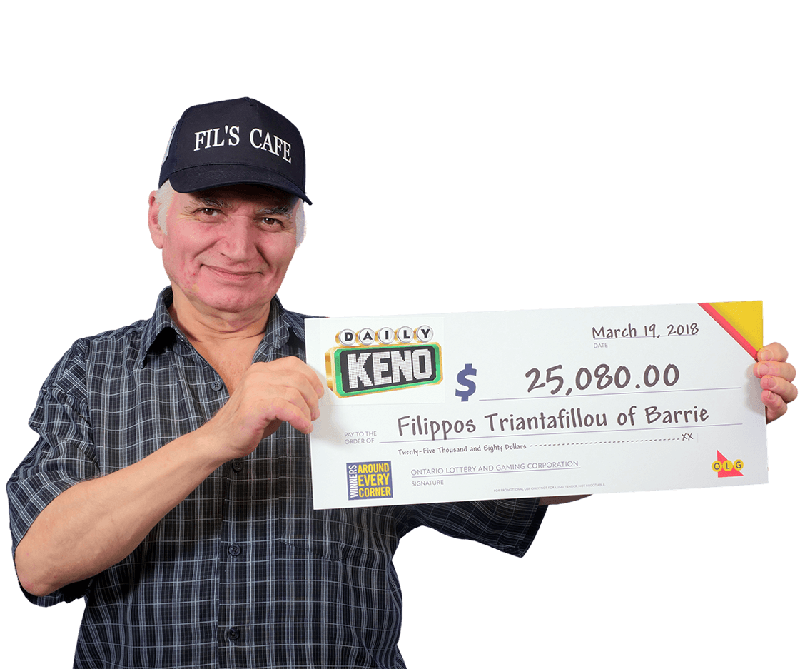 RECENT Daily Keno WINNER - Filippos