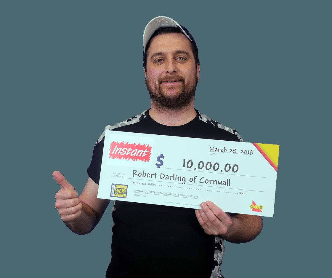 RECENT Instant WINNER - Robert