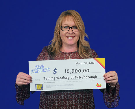 RECENT Instant WINNER - Tammy