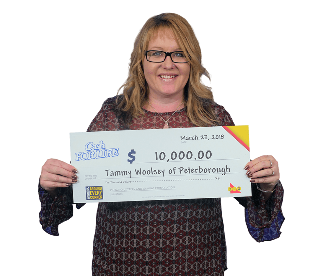 RECENT Instant WINNER - Tammy