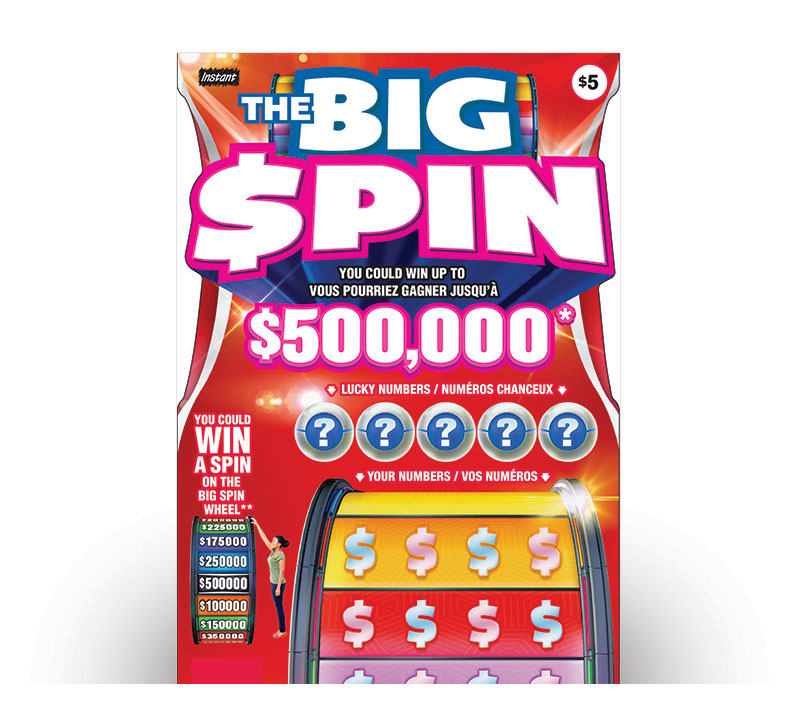 THE BIG SPIN logo