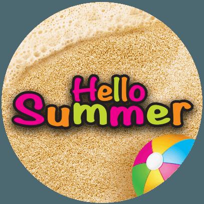 Hello Summer Game logo