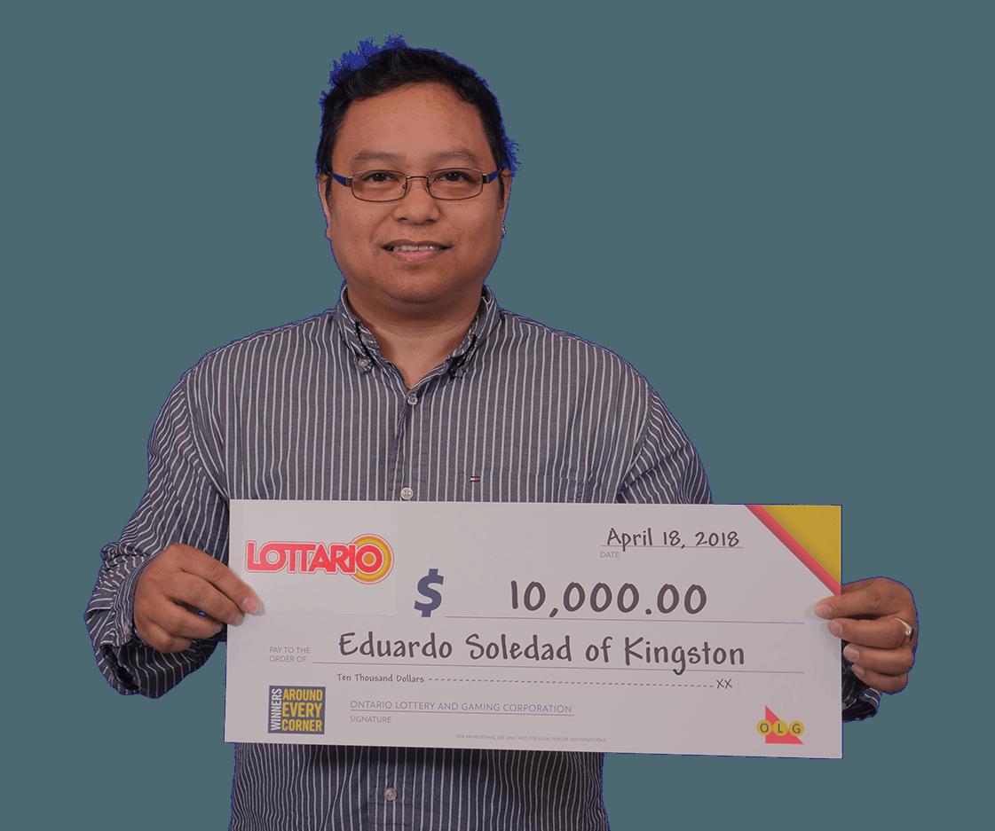 RECENT Lottario WINNER - Eduardo