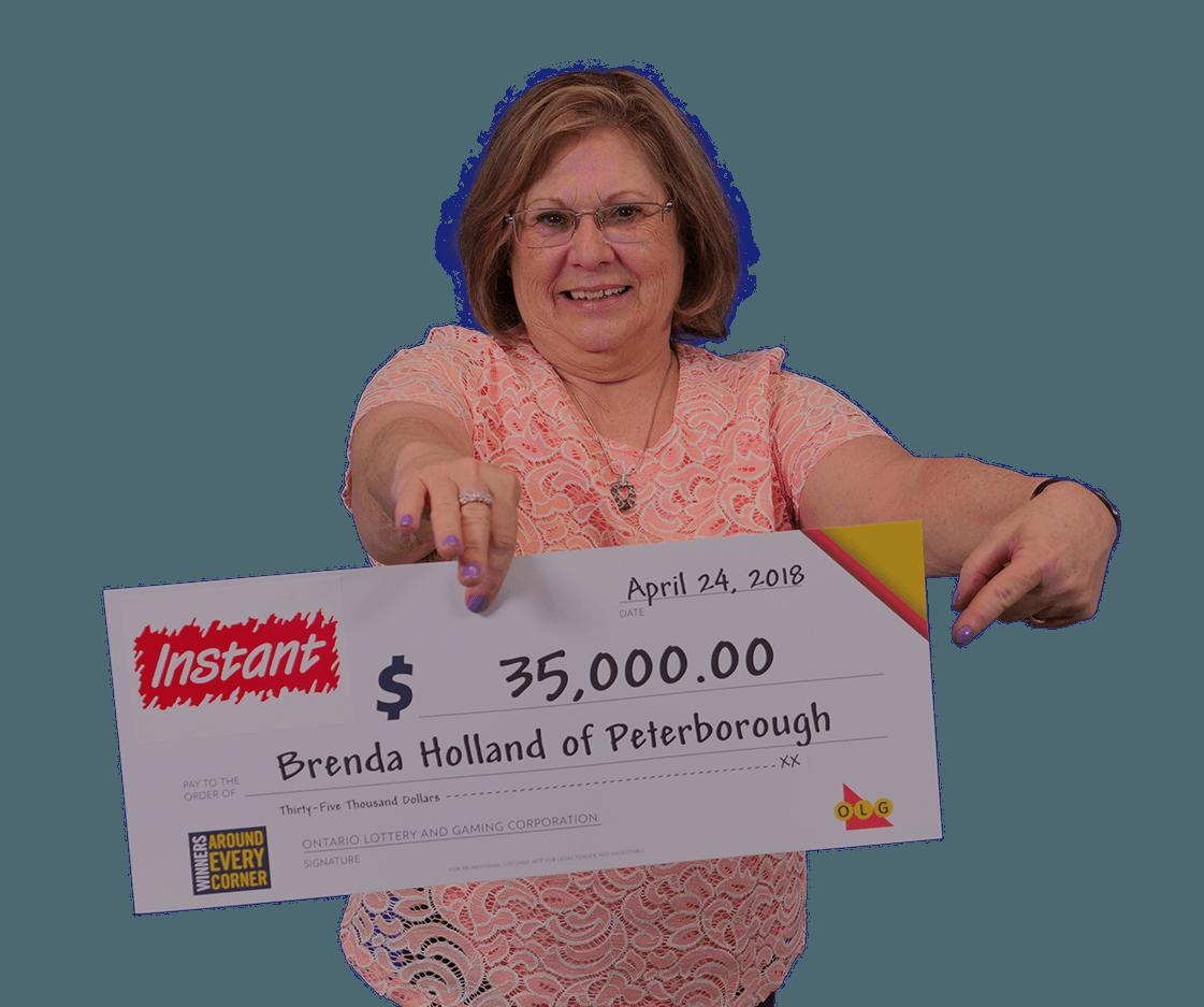 RECENT Instant WINNER - Brenda