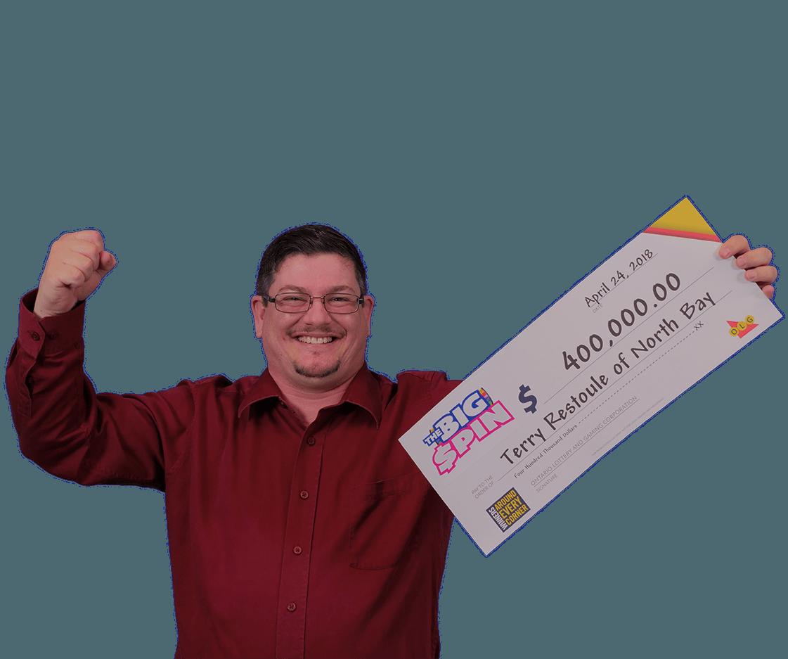 RECENT Instant WINNER - Terry