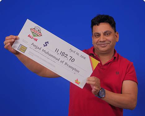 RECENT Poker Lotto WINNER - Amjad