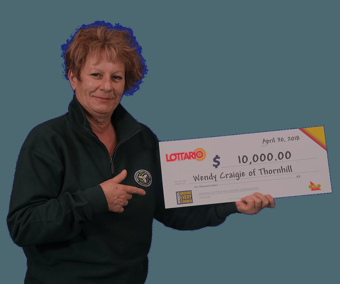 RECENT Lottario WINNER - Wendy