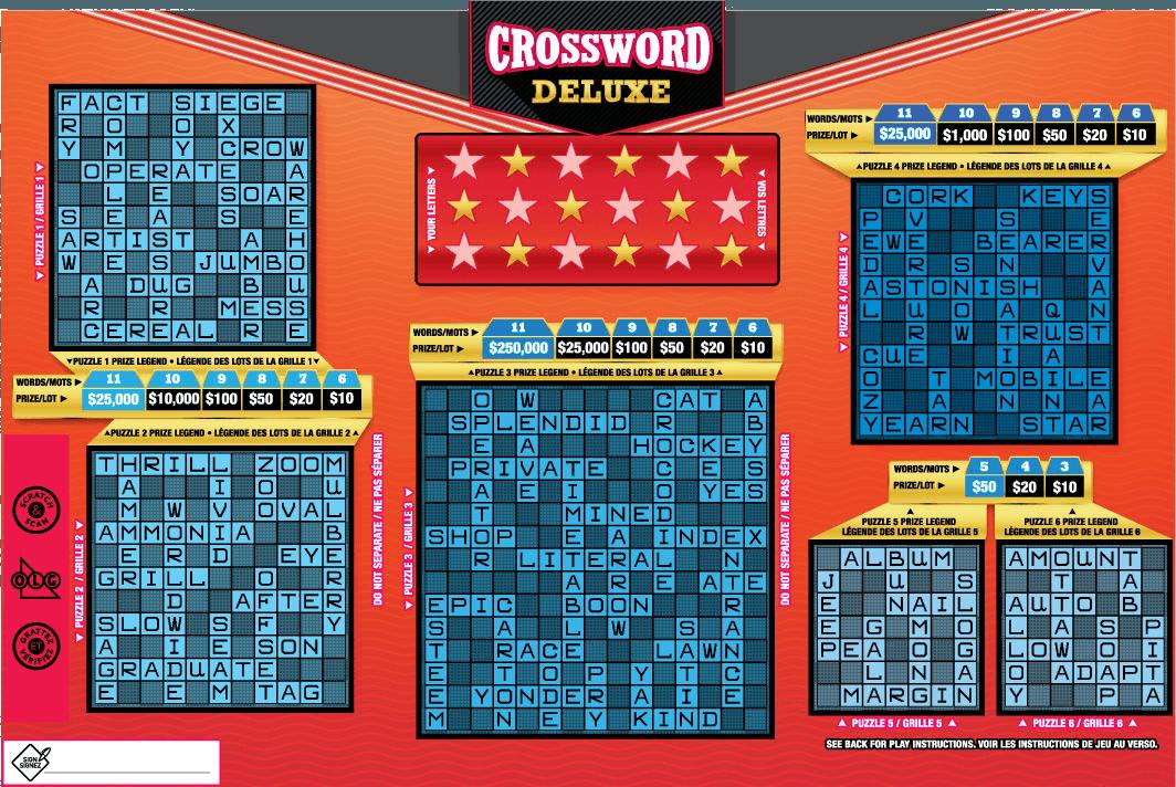 Crossword Deluxe 2083