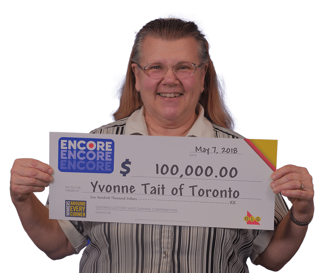 RECENT Encore WINNER - Yvonne