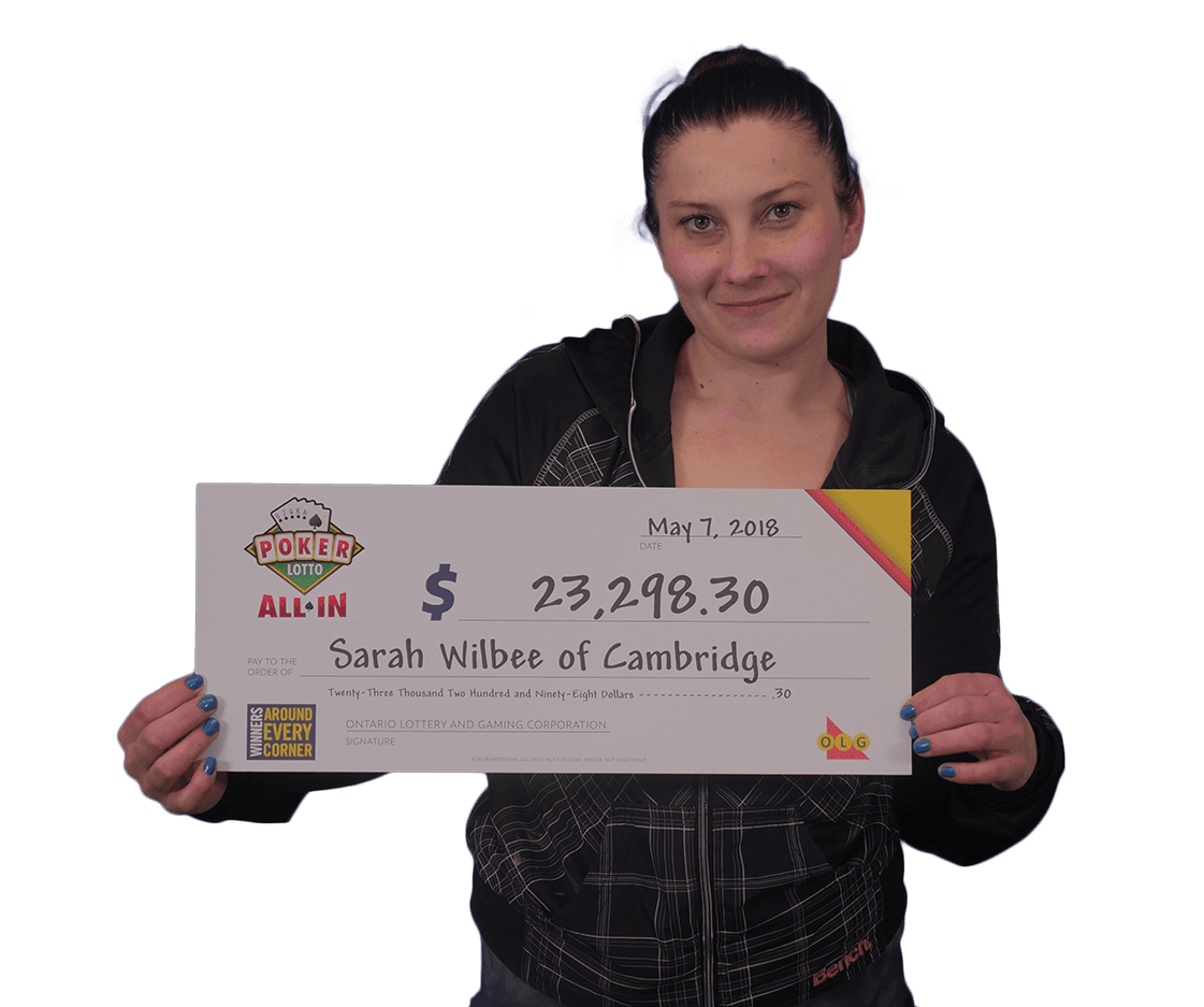 RECENT Poker Lotto WINNER - Sarah