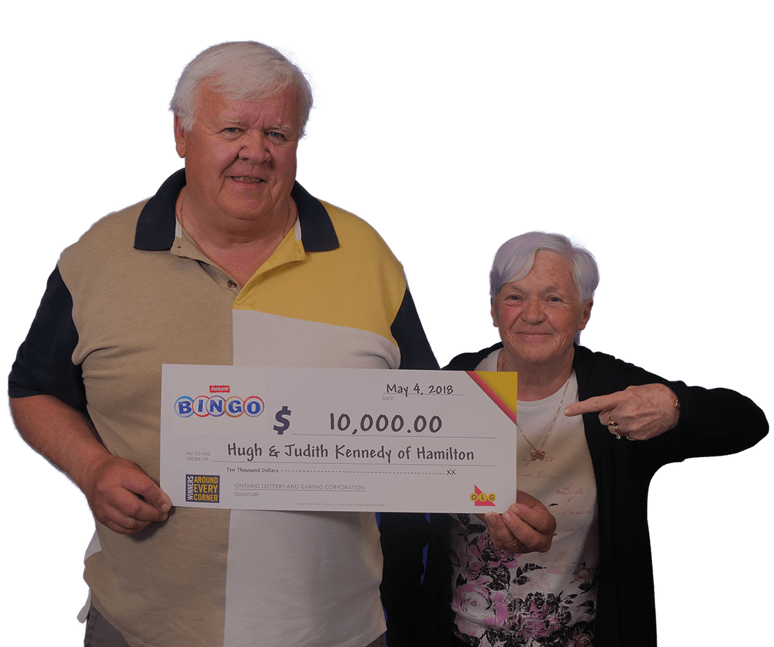 RECENT Instant WINNERS - Hugh & Judith