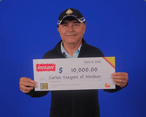 RECENT Instant WINNER - Carlos
