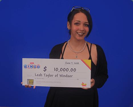 RECENT Instant WINNER - Leah Taylor