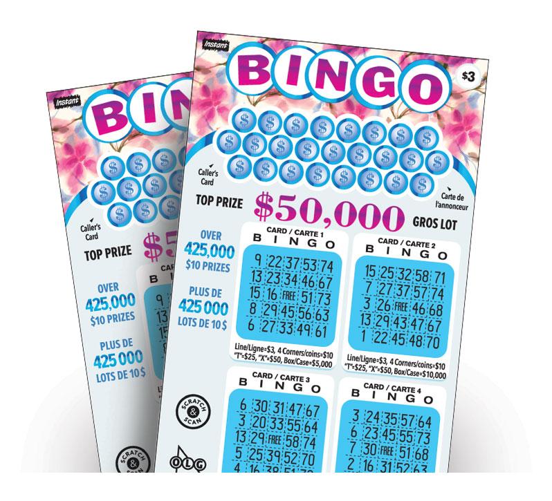Instant Bingo 3026 tickets
