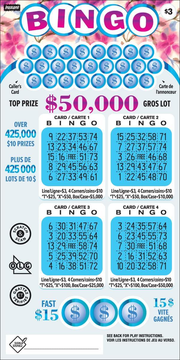Instant Bingo 3026