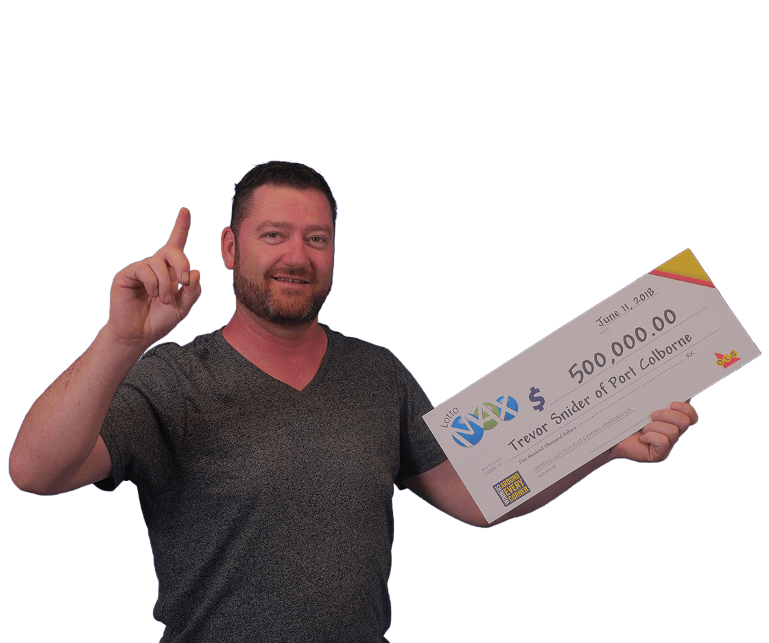 RECENT Lotto Max WINNER - Trevor