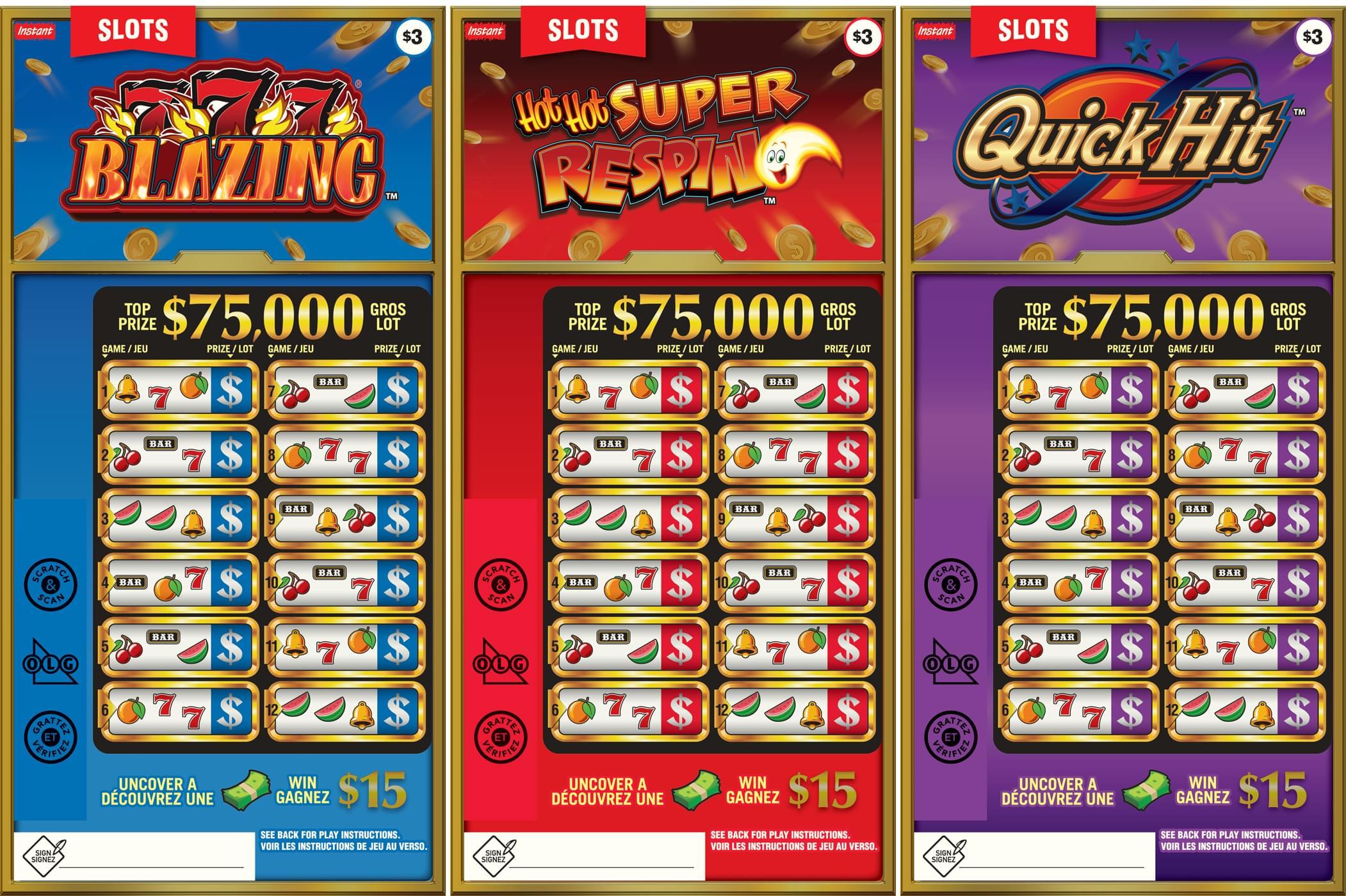 Slots tickets