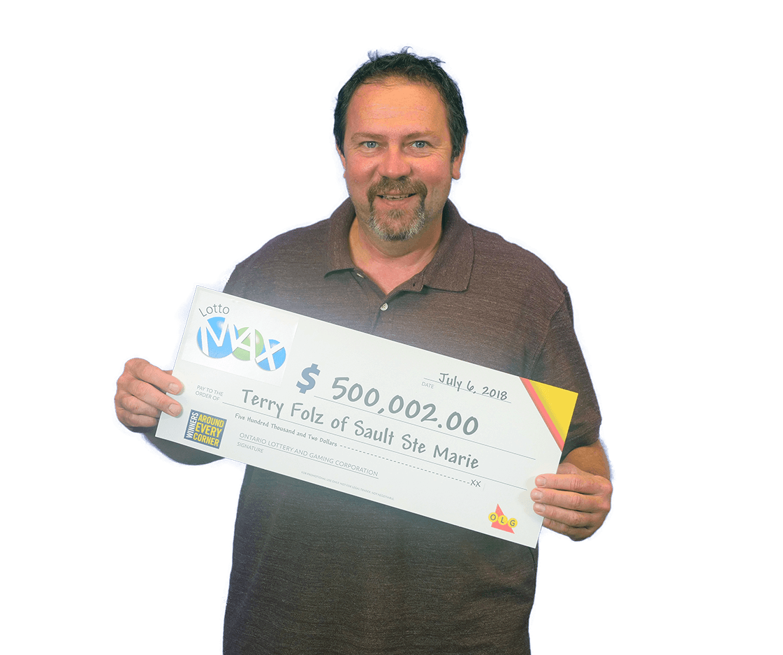 RECENT Lotto Max WINNER - Terry