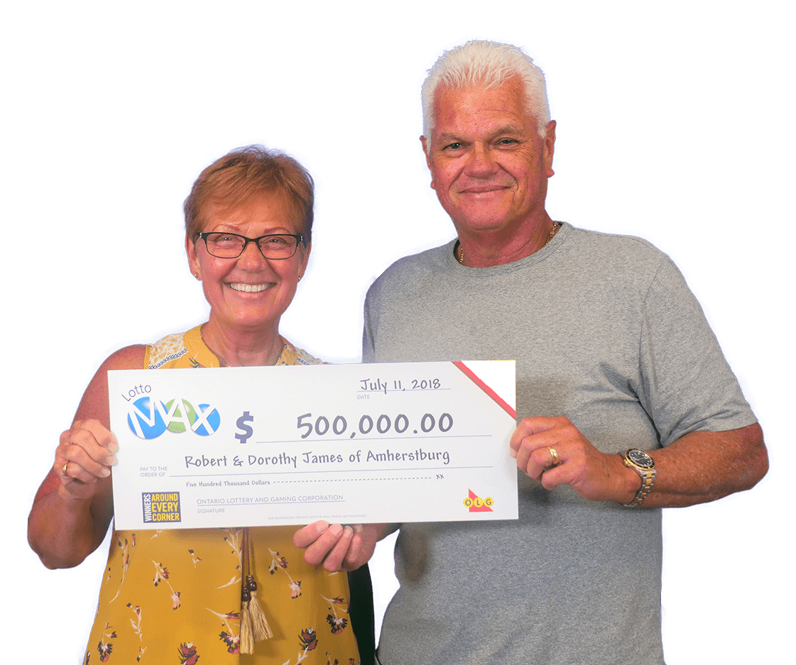 RECENT Lotto Max WINNERS - Dorothy & Robert
